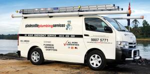 Gladesville Plumbing Van. Commercial Plumber Sydney